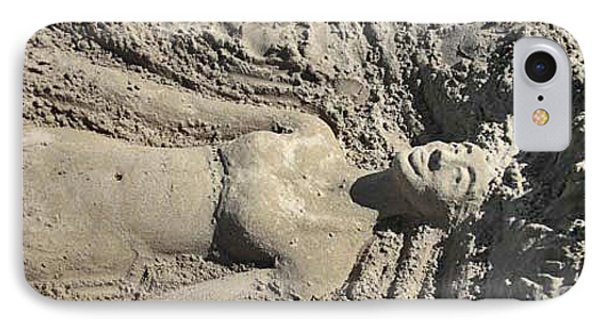 IPhone Case featuring the photograph Mermaid Of The Sand by Jani Freimann