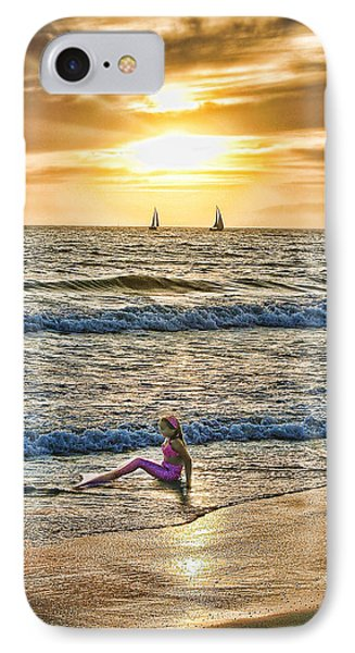 IPhone Case featuring the photograph Mermaid Of Venice by Michael Cleere