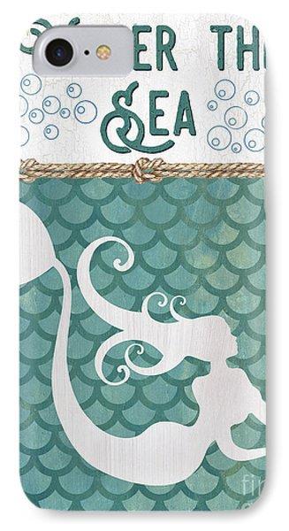 Fairy iPhone 7 Case - Mermaid Waves 2 by Debbie DeWitt