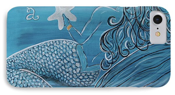 Mermaid- Wish Upon A Starfish IPhone Case