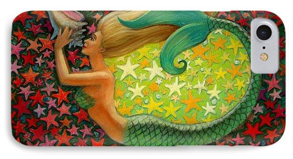 Mermaid's Circle IPhone Case by Sue Halstenberg