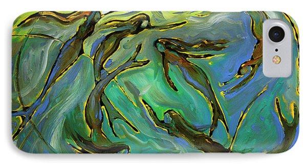 Mermaids IPhone Case by Frank Robert Dixon