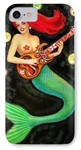Mermaids Rock Tiki Guitar IPhone 7 Case