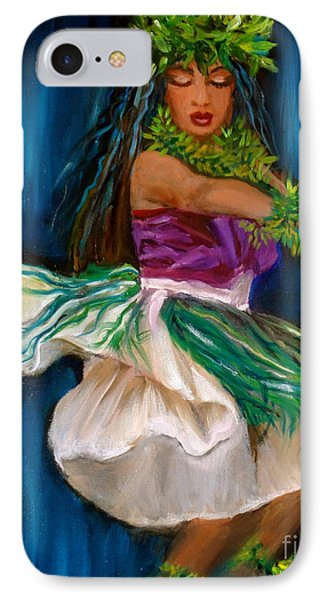 Merrie Monarch Hula IPhone Case by Jenny Lee