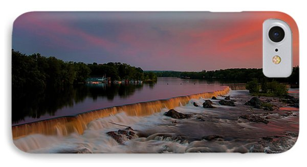 Merrimack River Falls IPhone Case