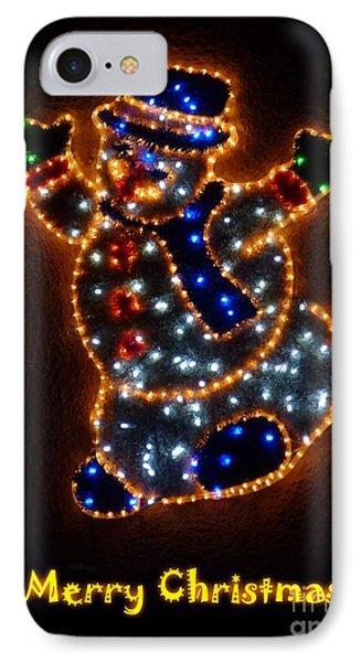 Merry Christmas Phone Case by Jean Bernard Roussilhe