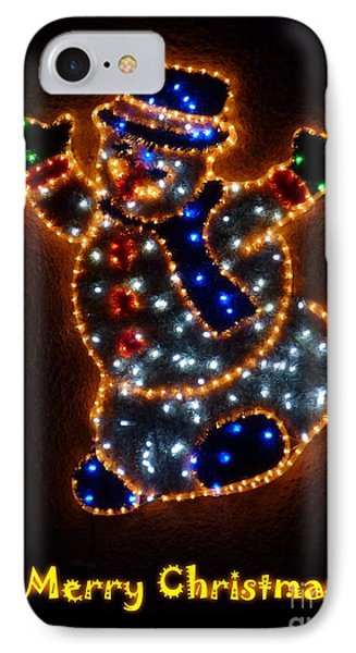 Merry Christmas IPhone Case by Jean Bernard Roussilhe