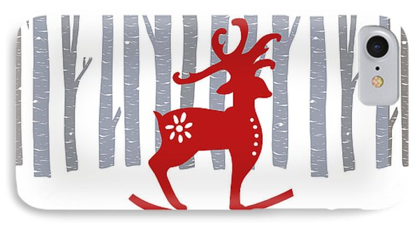 Merry Christmas IPhone Case by Kathrin Legg
