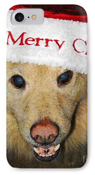 Merry Christmas Phone Case by Sarah Loft