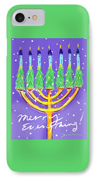 Merry Everything IPhone Case by Jean Pacheco Ravinski