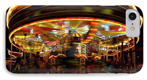Merry-go-round IPhone Case by Beverly Cash