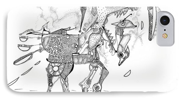 Merry-go-round Horse IPhone Case by Regina Valluzzi