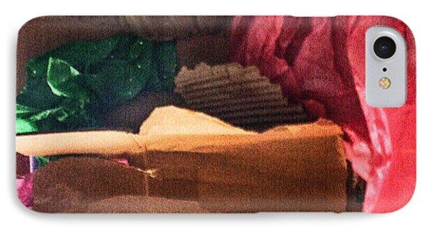 Merry Xmas Cardboard IPhone Case