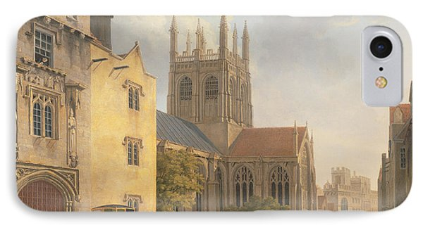 Merton College - Oxford IPhone Case by Michael Rooker