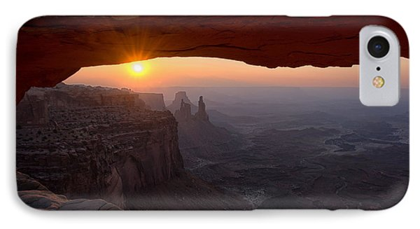 Mesa Arch Sunrise IPhone Case by Darlene Bushue