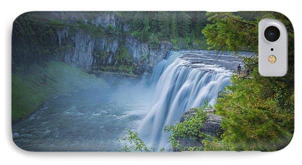 Mesa Falls - Yellowstone Phone Case by Dan Pearce