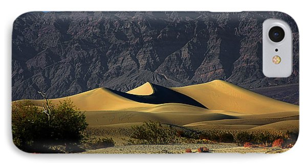 Mesquite Flat Dunes - Death Valley California Phone Case by Christine Till