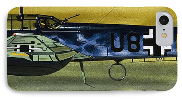 Messerschmitt IPhone Case by Wilf Hardy