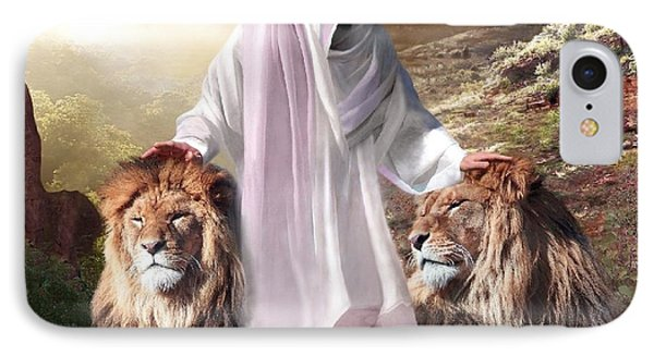Messiah Israel And Judah Phone Case by Bill Stephens
