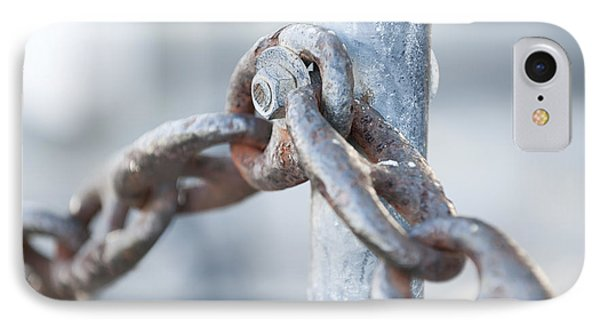 Metal Chain Railing Fragment IPhone Case