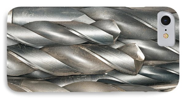 Metal Drill Bits Phone Case by Shannon Fagan