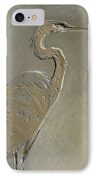 Metal Egret 3 IPhone Case