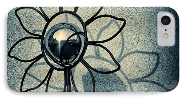 Metal Flower IPhone Case by Dave Bowman