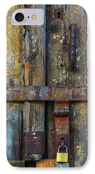 Metal Locks IPhone Case by Carlos Caetano