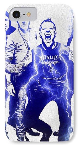 Metallica IPhone Case by Dan Sproul