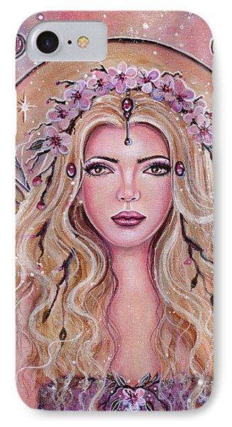 Metamorphosis Fairy Portrait IPhone Case by Renee Lavoie