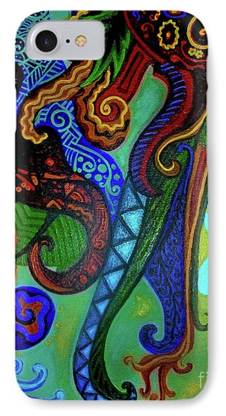 Metaphysical Habituation Phone Case by Genevieve Esson