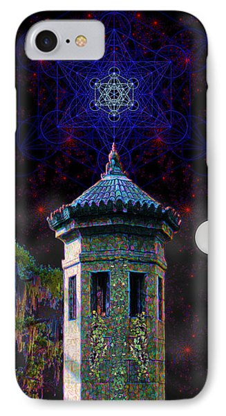 Metatron Nocturnal IPhone Case by Iowan Stone-Flowers