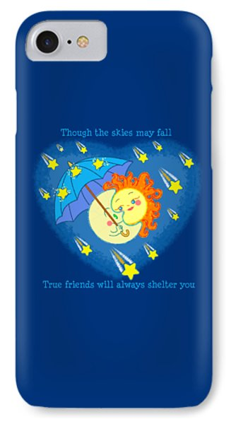 IPhone Case featuring the digital art Meteor Shower 2 by J L Meadows