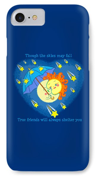Meteor Shower 3 IPhone Case by J L Meadows