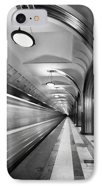 Metro #5147 IPhone Case by Andrey Godyaykin