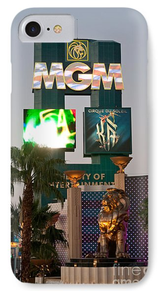 Metro The Mgm Lion Phone Case by Andy Smy