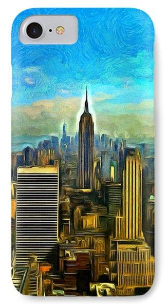 Metropolis - Da IPhone Case by Leonardo Digenio
