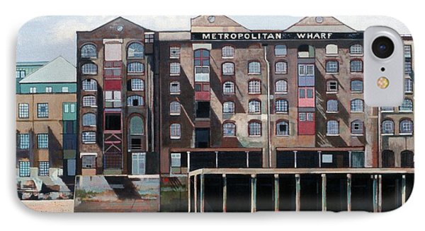 Metropolitan Wharf Phone Case by Peter Wilson