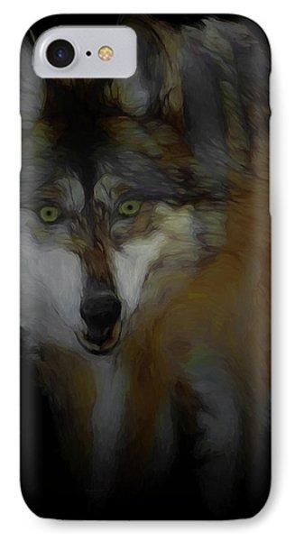 Mexican Grey Wolf Da2 IPhone Case