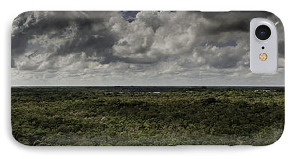IPhone Case featuring the photograph Mexican Jungle Panoramic by Jason Moynihan