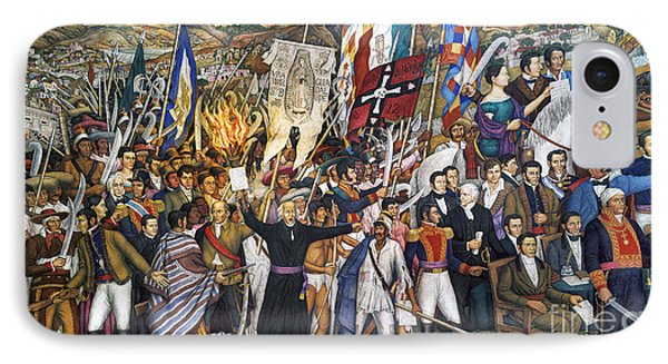 Mexico: 1810 Revolution Phone Case by Granger