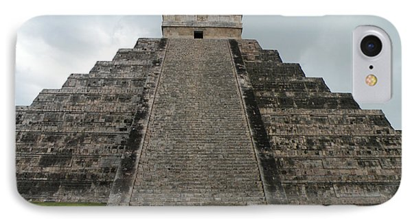 IPhone Case featuring the photograph Mexico Chichen Itza by Dianne Levy