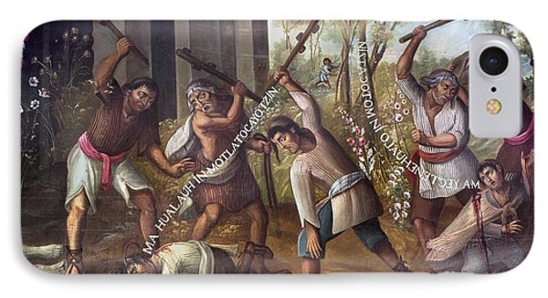 Mexico: Christian Martyrs IPhone Case
