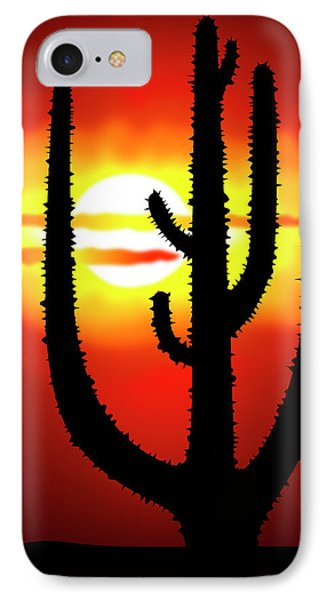 Mexico Sunset Phone Case by Michal Boubin