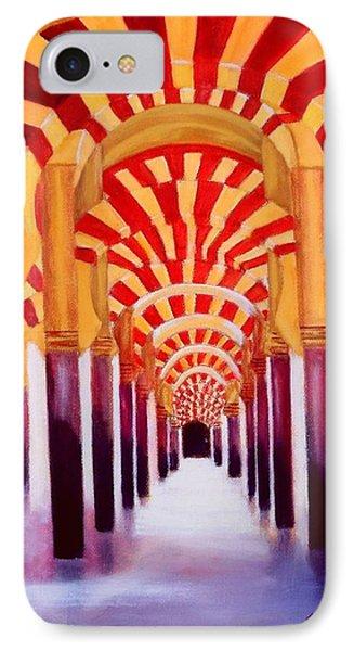 Mezquita De Cordoba IPhone Case by Manuel Sanchez