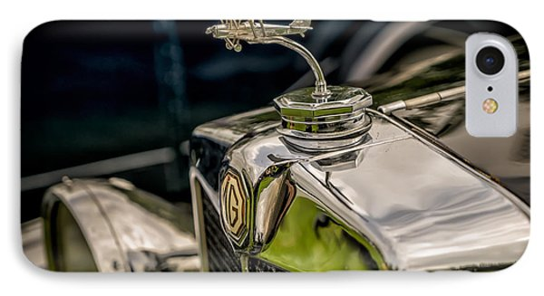 Mg Biplane Mascot IPhone Case by Adrian Evans