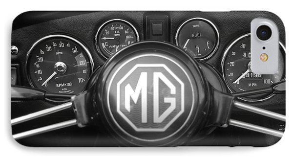Mg Midget Dashboard IPhone Case