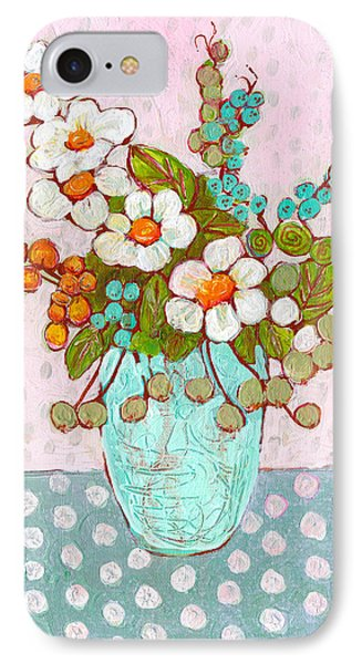 Mia Daisy Flowers IPhone Case
