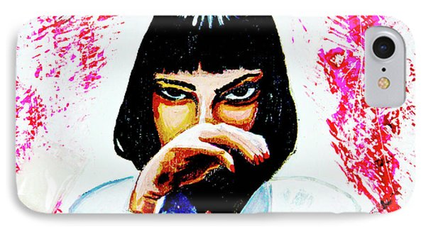 IPhone Case featuring the painting MIA by eVol i