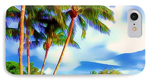 Miami Maurice Gibb Memorial Park IPhone Case by Patrice Torrillo